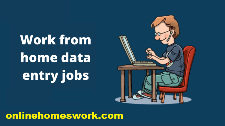Part Time Data Entry Jobs From Home 2021