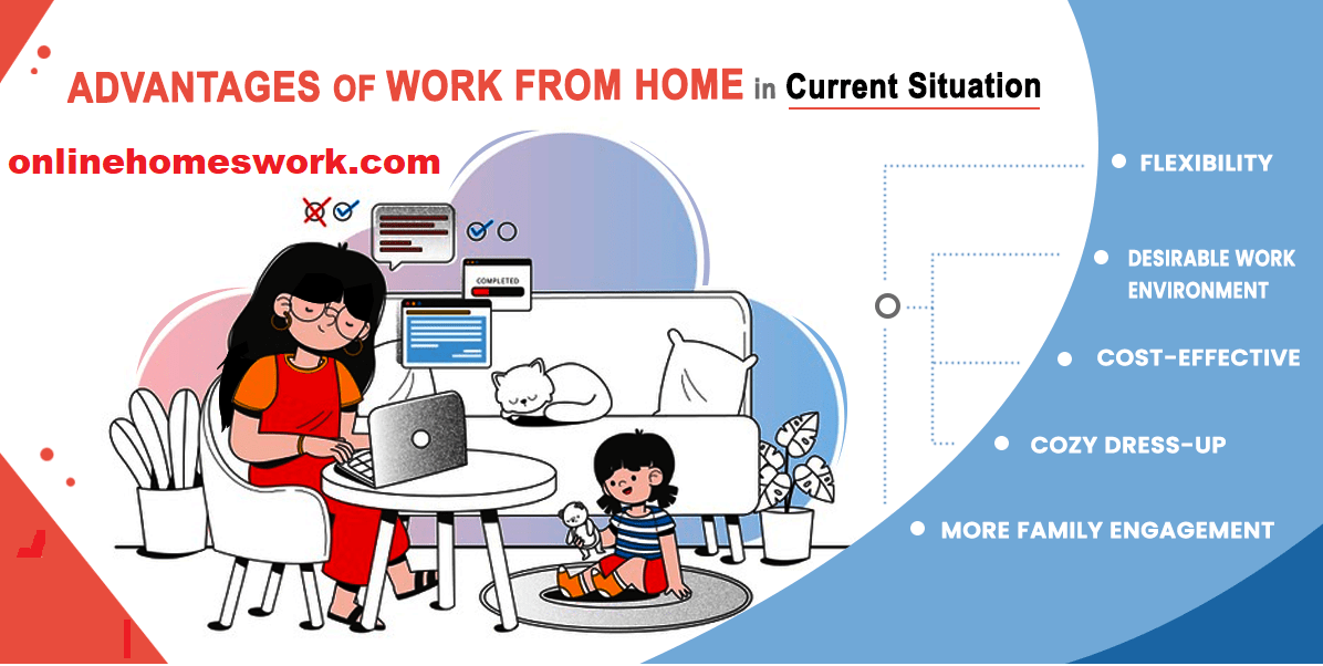BENEFITS And ADVANTAGES ONLINE WORK